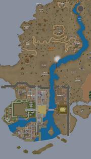 River Elid map