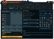 RuneMetrics (Metrics) interface