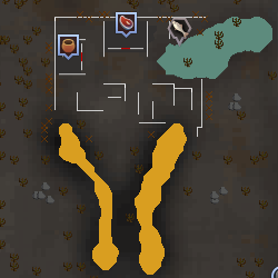 Bandit Camp (Wilderness) map