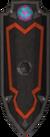 Black shield (h1) detail
