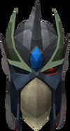 Full slayer helmet (uncharged) (green) detail