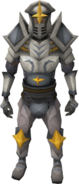 Titan armour equipped (male)