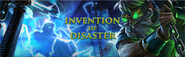 Invention of Disaster lobby banner