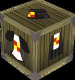Black heraldic armour set 3 (sk) detail