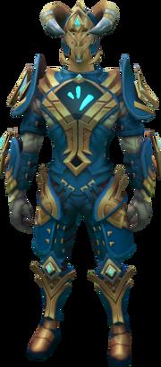Frozen gorajan trailblazer outfit equipped