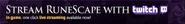 Twitch intergration lobby banner
