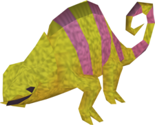 Adult chameleon (colourful 1)
