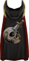 Hooded slayer cape (t) detail