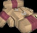 Tyrannoleather torn bag