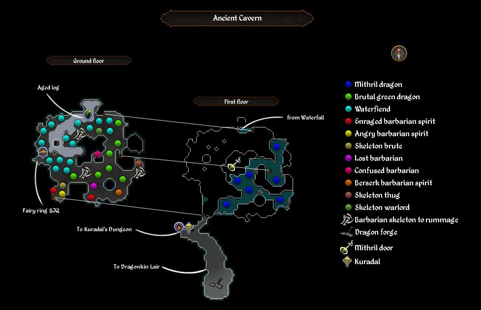 Ancient Cavern map