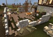 Explorer Jack's house ruined
