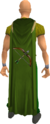 Ranged cape equipped