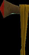 Clan hatchet detail