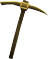 Gilded bronze pickaxe detail old.png