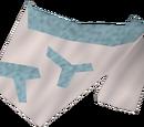 Tribal top (blue)