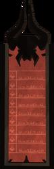 Dominiont Tower scoreboard
