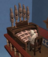 Organist (abbey)