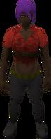 Retro torn (female)