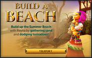 Build a Beach popup