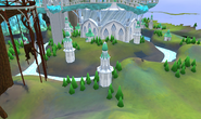 Prifddinas crater bottom