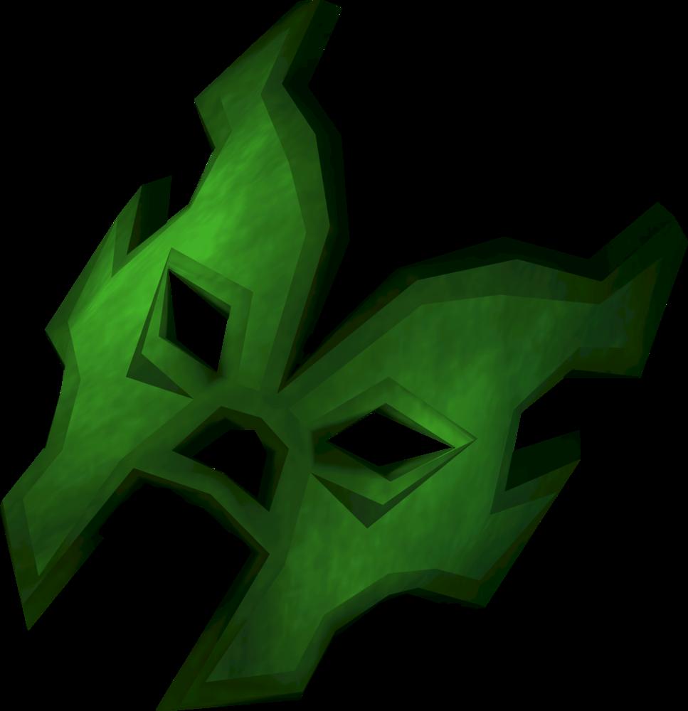 El Hombre Verde detail