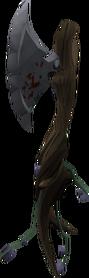 Infested axe neem