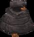 Penguin in rock