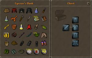 Cyrisus's bank