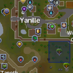 Elder tree (Yanille) location