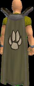 Retro hunter cape equipped