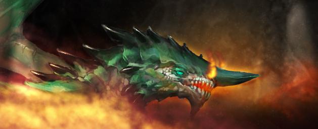 Metallic dragon trinkets update post header