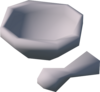 A detailed image of a pestle and mortar.