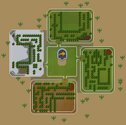 Sorceress's Garden map