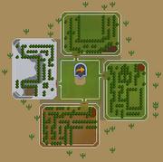 Sorceress's Garden map