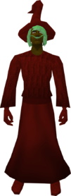 Robe (Canifis) red equipped