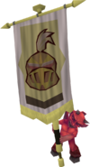 Banner carrier (earth warrior)