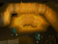 Temple of Marimbo Dungeon fire pit
