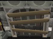 Woodcutting door