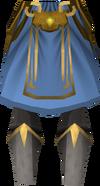 Warpriest of Saradomin greaves detail