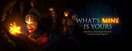 What's Mine is Yours banner
