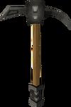 Iron pickaxe detail