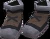 Climbing boots detail