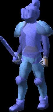 Ice warrior (Ice queen lair)
