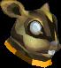 Baby golden chinchompa chathead