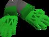 Dragon slayer gloves detail