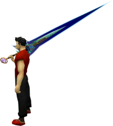 Augmented Zaros godsword equipped