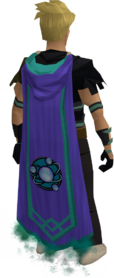 Divination master cape equipped