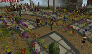 Flower bombing