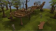 Gnome treehouse