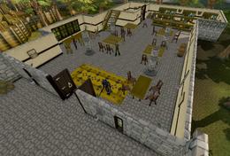 Jolly Boar Inn interior
